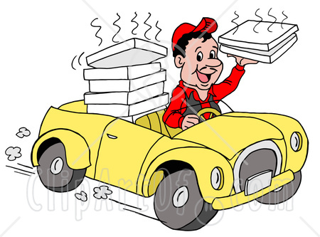 delivery driver clip art - photo #1